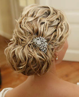 Hair combs: for every bride and every dress