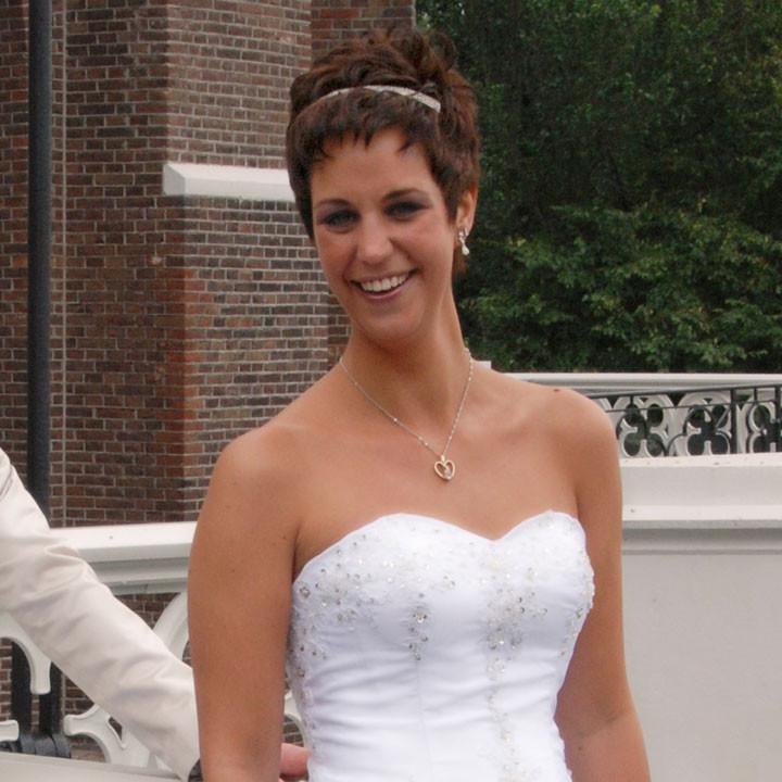 Haaraccessoires bruid kort haar
