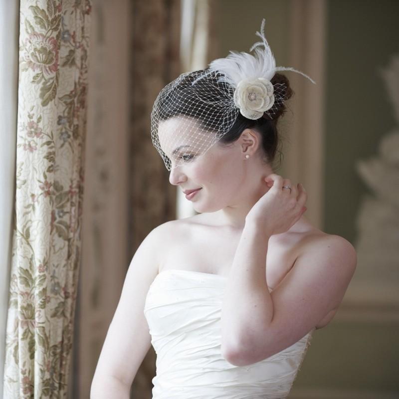 Lonneke van dijk fashion hairstylist welke birdcage sluier past het beste bij jouw favoriete - Foto sluier shading ...
