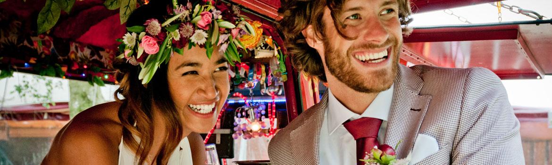 bruidskapsel bohemian