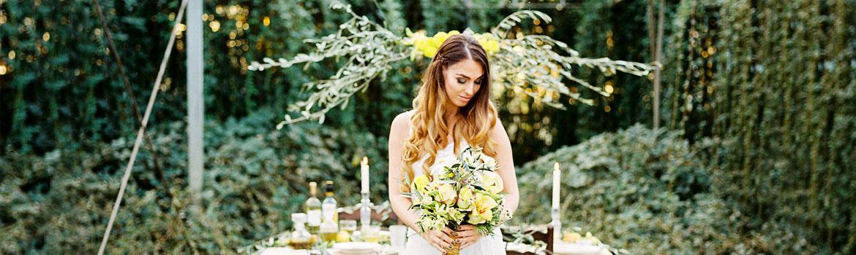 bruidskapsel krullen italie