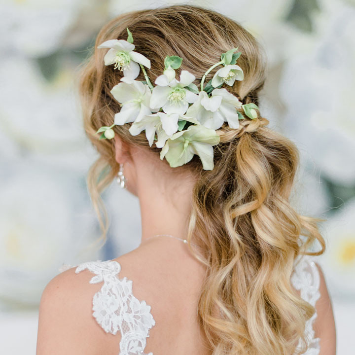 Fotoshoot, Clean and White Wedding Inspiration